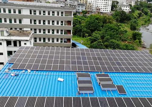 屋頂光伏發電站建設
