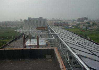 北京航空航天大學北海學院32噸熱水工程