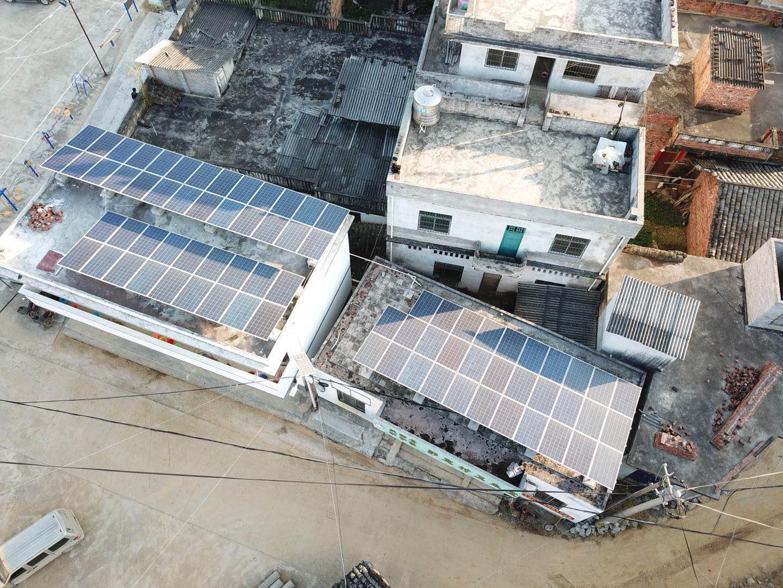 集中式光伏電站建設