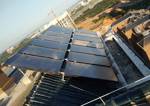 酒店賓館太陽能熱水工程解決方案