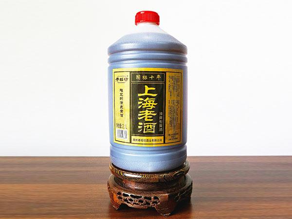 上海老酒國標十年2.1L
