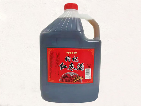 老紹坊枸杞紅棗酒5L