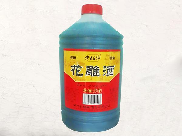 老紹坊花雕酒國標十年2.5L