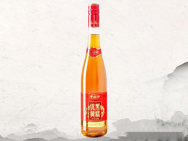 老紹坊黑糯優黃黃酒六年陳釀688ml