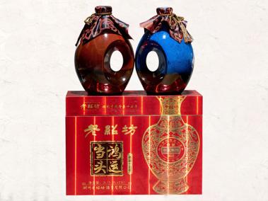 老紹坊黃酒典藏十五年鴻運當頭14°1.5L