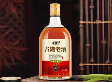 古樾老酒五年陳黃酒