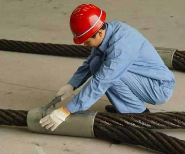鋼繩鋁合金壓制索具