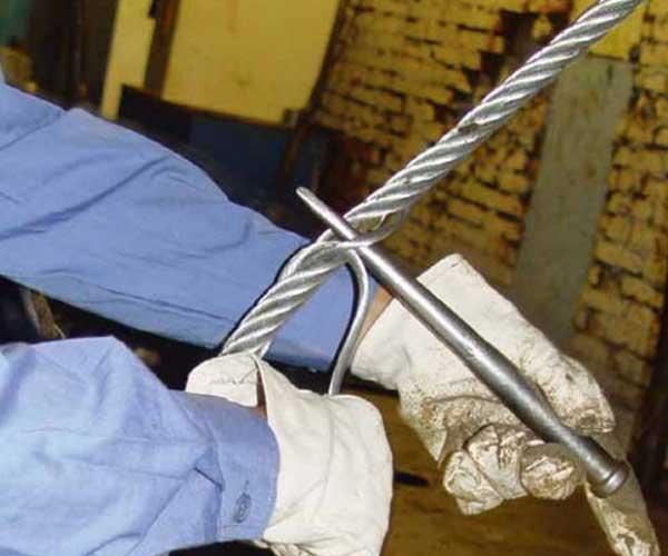 鋼絲繩手工插編吊索