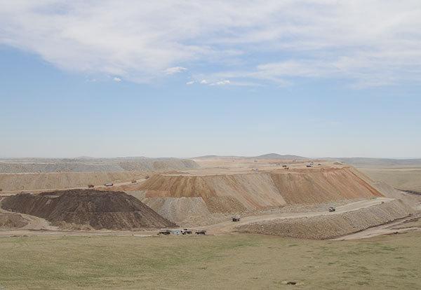 内蒙满洲里采矿