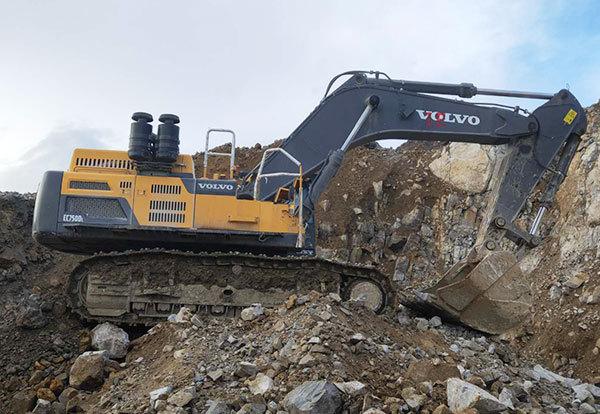 挖掘机(沃尔沃EC750DL)