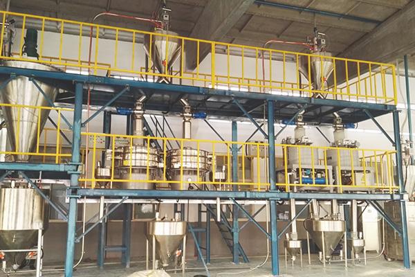 粉体气力输送生产线