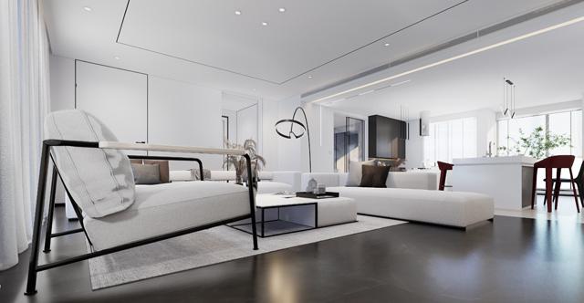 九龍坡現代簡約客廳公區