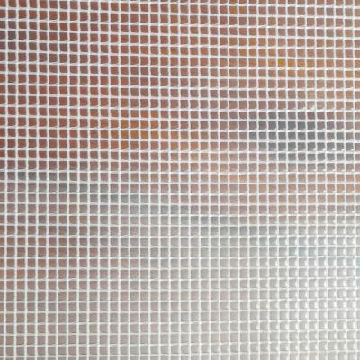 透明夾網布