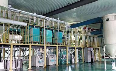 中小型面粉机械在处理小麦后如何储存小麦粉