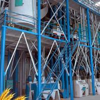 60噸中型面粉機生產設備(鋼架結構)