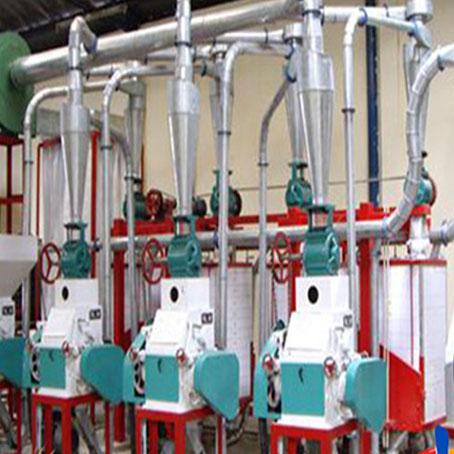 小型磨面机成套设备 15-20吨