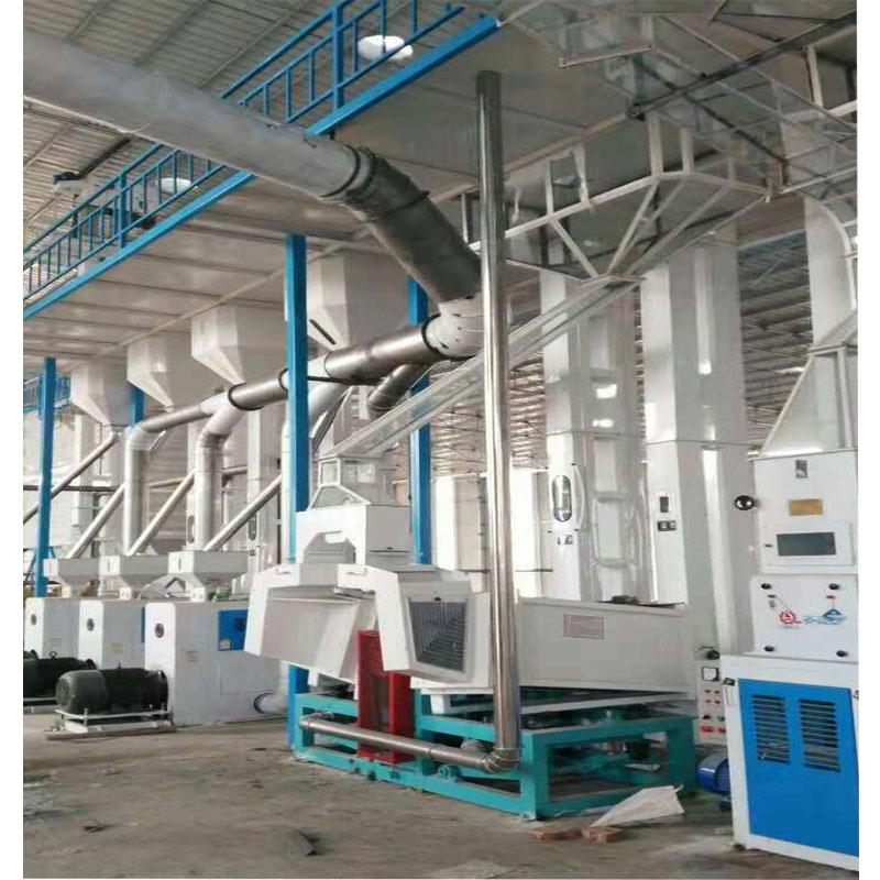 日生產100噸面粉機設備