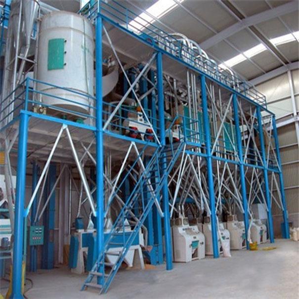 日處理玉米120噸脫脂玉米粉生產線