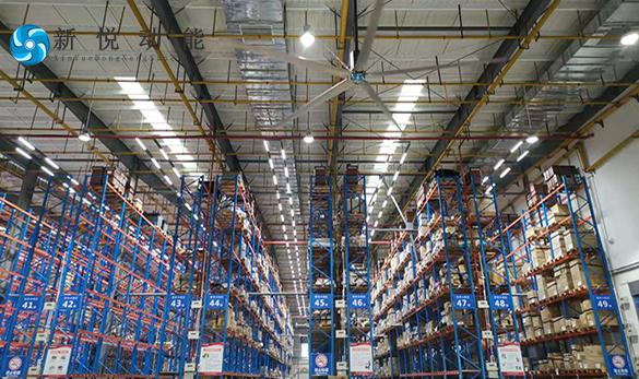 7米大型節能吊扇便受到了中小企業的青睞