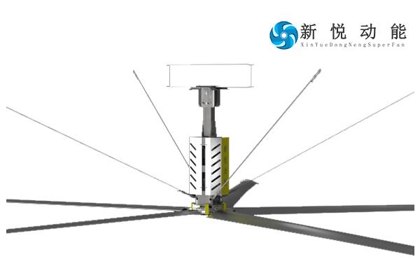 7.3米大型節能吊扇