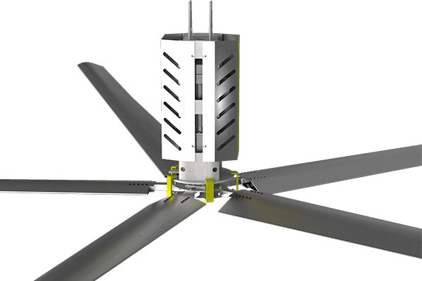 工業大吊扇高溫工廠車間想要解決通風降溫的問題