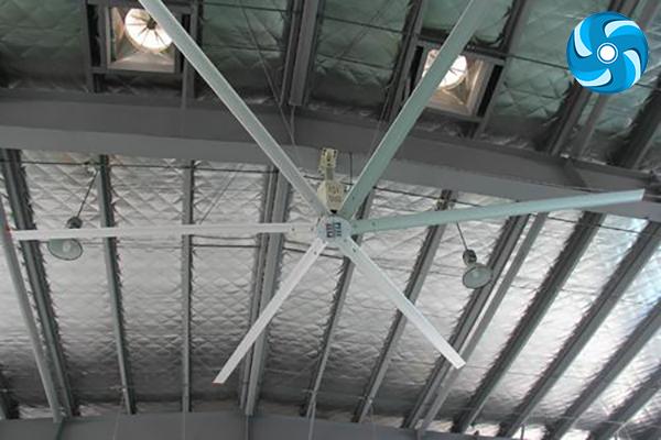 工業大風扇風扇噪音是如何形成的?