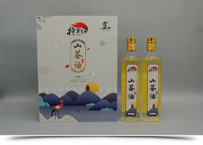 山東霧仙山山茶油750ml×2精品禮盒