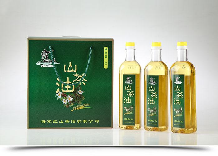 霧仙山山茶油3L禮盒(1Lx3)