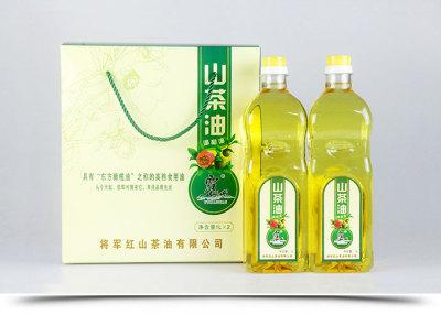 山東霧仙山山茶油食用植物調和油2L禮盒