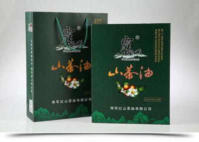 山東霧仙山山茶油500ml×2精品禮盒
