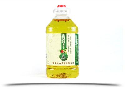 山東霧仙山山茶油食用植物調和油5L家庭裝