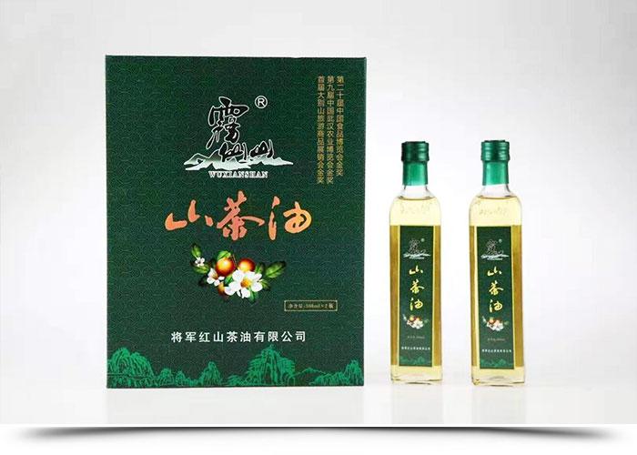 霧仙山精品茶油禮盒(500mlx2)