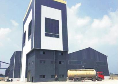 50万吨干粉砂浆生产线