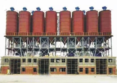 干粉砂浆生产线(四连体)