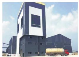 浙江30万吨干粉砂浆生产线