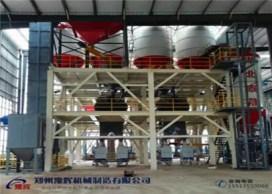 6m3石膏砂漿生產線