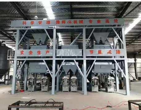 轻质石膏砂浆生产线