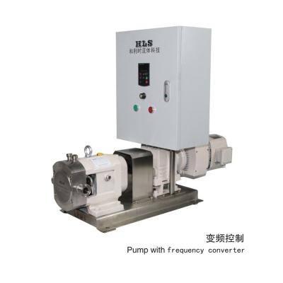 凸輪式轉子泵-變頻控制