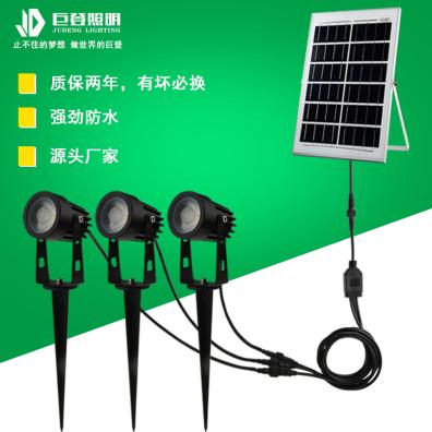 上海太陽能一拖三插地燈43