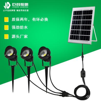 上海一拖三太陽能插地燈75C2