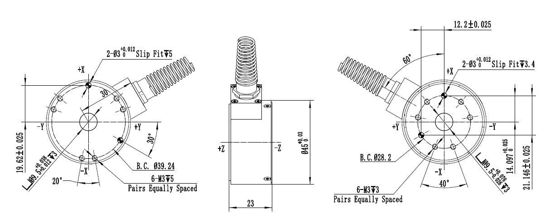 六维力传感器