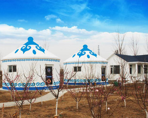 蒙古包模塊