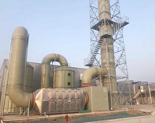 SY-17項目VOCs尾氣回收處理工程