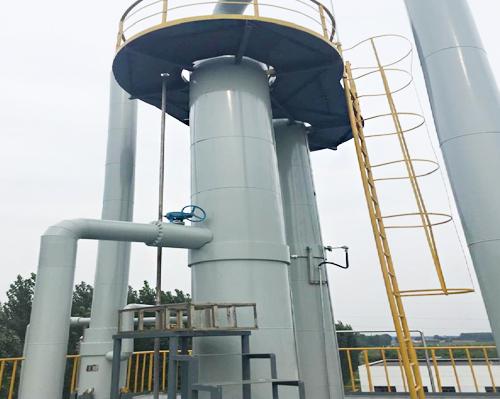 油田土壤污染處理液的回收處理系統
