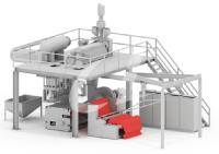熔噴布生產行業定制無油螺桿鼓風機