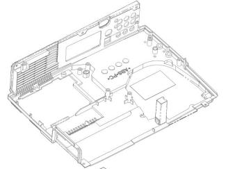 呼和浩特投影機大型投影儀底殼注塑模具設計:
