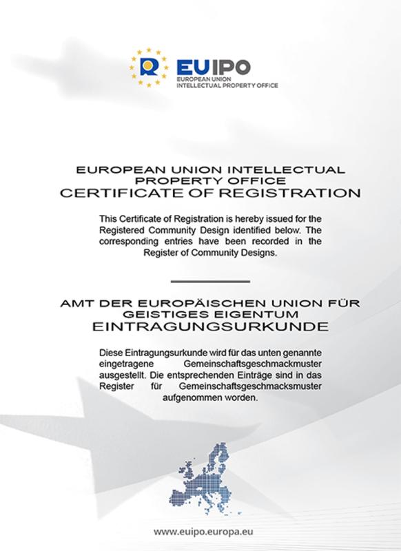 歐盟外觀設計專利證書003022334-0002