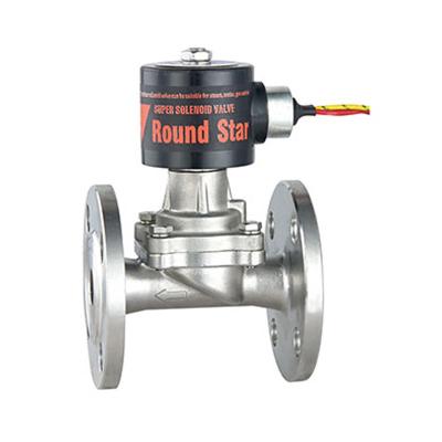 RSPS 零压差蒸汽电磁阀法兰接口