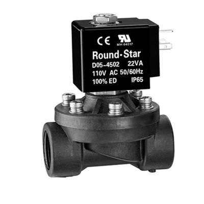 U2W-SL 分步直動式塑料電磁閥