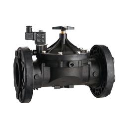YSA 先导式塑料电磁阀法兰和活接接口